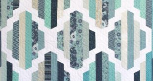Garden Lattice Quilt Pattern