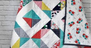 HST Squared – A Free Quilt Pattern