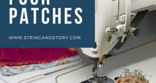 How to Piece Four Patches (Patchwork Quilting Tutorials for Beginners)