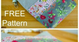 How to Sew A Tote Bag With Many Pockets - FREE Pattern