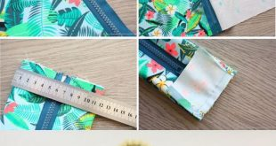 How to Sew Pencil Case with Zipper
