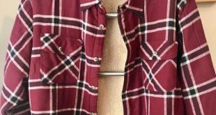 LIKE NEW! Wrangler LS Sherpa Lined Flannel Shirt LIKE NEW Wrangler authentic men...