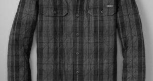 Men's Eddie's Favorite Flannel Quilted Shirt Jacket