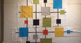 My last version of this quilt ... trying to get it done before we leave on vacat...