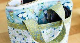 Nähen Sie ein super entzückendes Tiny Bag - freies Muster! - #bag #ein #entzü...