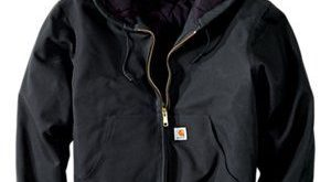 New! Carhartt Quilted Flannel-Lined Duck Active Jacket for Men