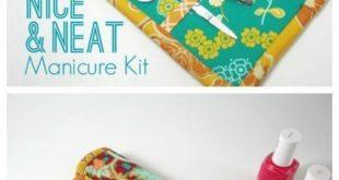 Nice and neat manicure kit FREE sewing pattern 2019 FREE sewing pattern for a...