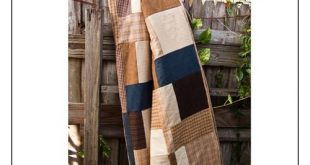 Primo Plaids by Vanessa Goertzen-men's flannel quilt