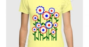 * Retro Summer Flowers T-shirt by #Gravityx9 at #Society6 ~ Tee shirts are avail...