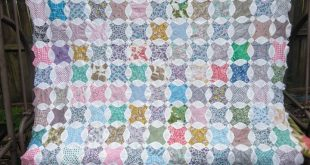Vintage quilt top, old quilt top, shabby chic quilt top, old quilt top, vintage fabric quilt top, farmhouse quilt top