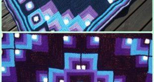 20 Fun Crochet Block Blanket Free Patterns