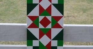 3'x1' Christmas Barn Quilts with three patterns to choose