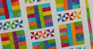 Baby Quilt Pattern - Layer Cake Pattern - Saturday In The Park - PDF INSTANT DOWNLOAD