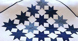 Baby Quilt Pattern PDF Star Quilt Patterns Christmas Quilt Pattern Table Runner Easy Quilt Pattern Beginner Quilt Pattern