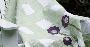 Baby Quilt Patterns PDF 2 For 1 Beginner Quilt Pattern Girl or Boy Quilt Pattern Lap Quilt Sewing Pa