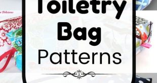 Bag patterns to sew. 25 Free Toiletry Bag Patterns, diy projects, and sewing tut...