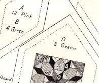 Bee In My Bonnet: Vintage Block Along Block One - Grandma's Star Quilt Block...
