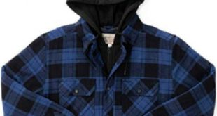 Boston Traders Men's Hooded Shirt Jacket Boston Traders Men's Hooded Shi...