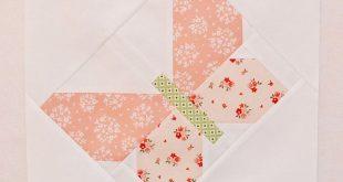 Butterfly Dance quilt pattern by Nadra Ridgeway of ellis & higgs. Patchwork patt...