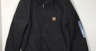 Carhartt Bankston Quilted-Flannel-Lined Bomber This men's heavyweight bomber...