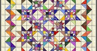 Certainly Stars quilt pattern by Jean MaDan