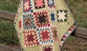 Civil War Remembered - 19 Quilts Using Reproduction Fabrics