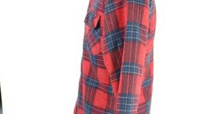 Coleman Flannel Lined Jacket Shirt Red Plaid Small Coleman Outdoors  * Mens Smal...