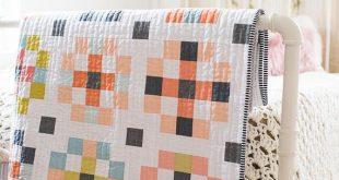 Crossroads PDF quilt Pattern/ Modern quilt pattern/ solids quilt pattern/ quilt pattern/ fat quarter quilt pattern
