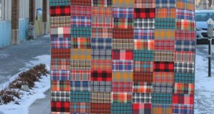 David Barnhouse from Crimson Tate: 3-step quilt pattern using flannels 2019 Da ...