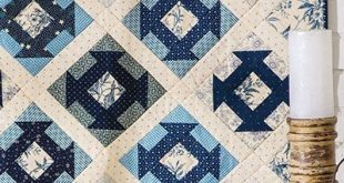 Enjoy This Lovely Quilt on Your Wall or Table