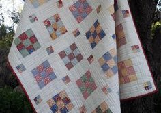 Floating Boxes a jelly roll, pdf quilt pattern