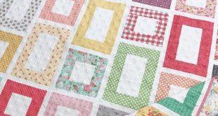 Framed Quilt Pattern (PDF Digital Download)