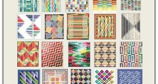 Free Pattern Day! Jelly Roll Quilts, part 1 of 2 (Quilt Inspiration)
