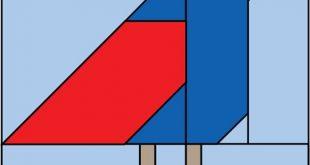 Free pattern: Bird block