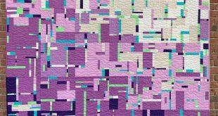 """Gainesville Modern Quilt Guild on Instagram: """"Meet 'Sunset in Mondrian'. T..."""