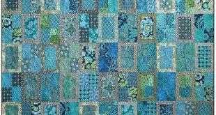 Hinteres Fenster Quilt Muster, blaue Underground Studios, DIY Quilten Nähen