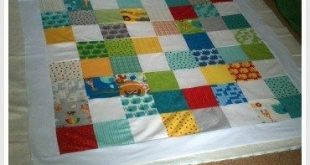 How to Make a Cotbed Quilt for Beginners, Step 7: Layering and Basting Your Quil...