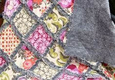 How to Make a Minky Rag Quilt