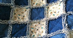 I have already posted a blog on how to make a Handkerchief Rag Quilt so when som...