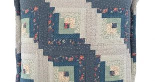 Large Vintage Quilt Euro Sham