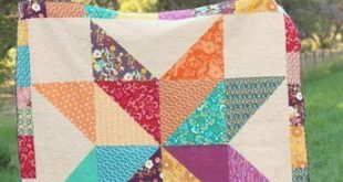 Lone Star Baby Quilt Tutorial, Part I