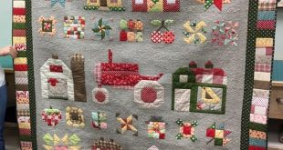 Lori Holt's Farm-Girl Vintage quilt ❤️