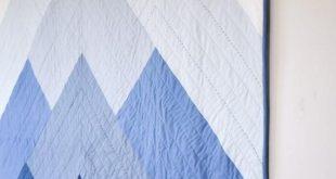 Misty Mountains Quilt   PDF Pattern