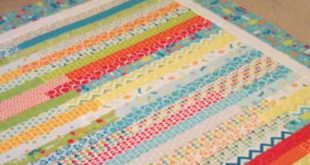 Mixed Bag Jelly Roll Race Quilt