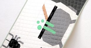 New Halloween Quilt Patterns: Cat Quilt Pattern