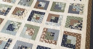 New pattern: Star Watch, a jelly roll quilt (Carried Away Quilting)