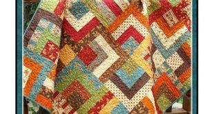 PDF Quilt Pattern Scrappy Trails Jelly Charm Friendly pattern Carlene Westberg Designs