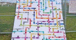 Patterns by Elizabeth Hartman — TOKYO SUBWAY MAP QUILTS pdf quilt pattern