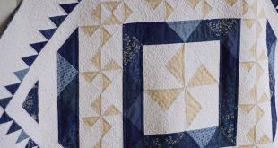 Pinwheel Quilt Patterns PDF Blue and White Quilt Patterns Baby Quilt Patterns Christmas Quilt Patter