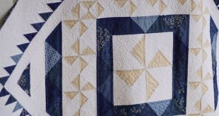 Pinwheel Quilt Patterns PDF Christmas Quilt Pattern Blue and White Quilt Patterns Baby Quilt Pattern